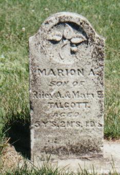 TALCOTT, MARION A. - Crawford County, Iowa | MARION A. TALCOTT