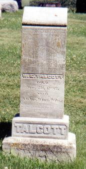 TALCOTT, WARREN EZRA - Crawford County, Iowa | WARREN EZRA TALCOTT