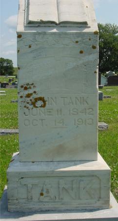 TANK, JOHN - Crawford County, Iowa | JOHN TANK