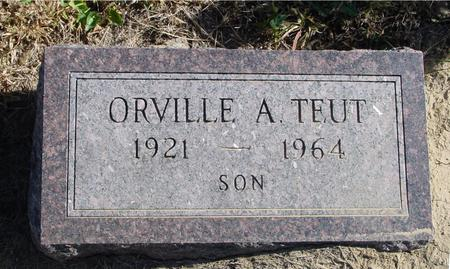 TEUT, ORVILLE A. - Crawford County, Iowa | ORVILLE A. TEUT