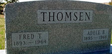 THOMSEN, FRED & ADELE - Crawford County, Iowa   FRED & ADELE THOMSEN