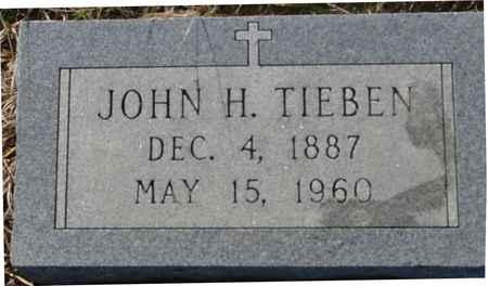 TIEBEN, JOHN H. - Crawford County, Iowa | JOHN H. TIEBEN