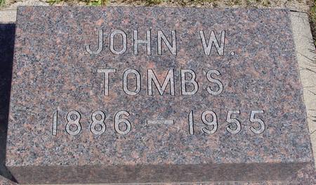 TOMBS, JOHN W. - Crawford County, Iowa | JOHN W. TOMBS