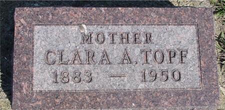 TOPF, CLARA A. - Crawford County, Iowa | CLARA A. TOPF