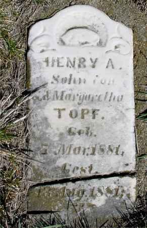 TOPF, HENRY A. - Crawford County, Iowa | HENRY A. TOPF