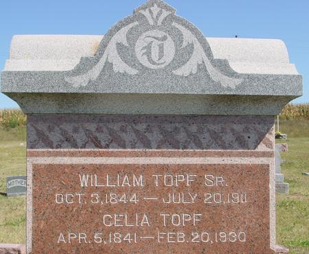 TOPF, WILLIAM & CELIA - Crawford County, Iowa | WILLIAM & CELIA TOPF