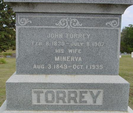 TORREY, JOHN - Crawford County, Iowa | JOHN TORREY
