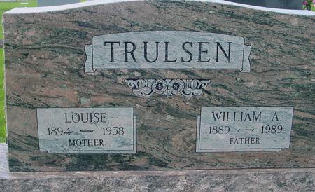 TRULSEN, WILLIAM A. & LOUISE - Crawford County, Iowa   WILLIAM A. & LOUISE TRULSEN