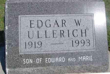 ULLERICH, EDGAR W. - Crawford County, Iowa | EDGAR W. ULLERICH