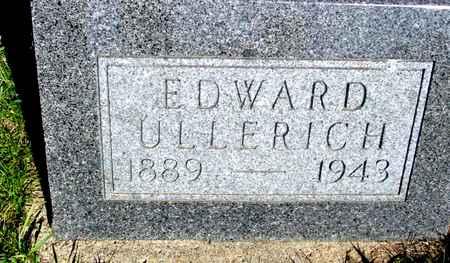 ULLERICH, EDWARD - Crawford County, Iowa | EDWARD ULLERICH