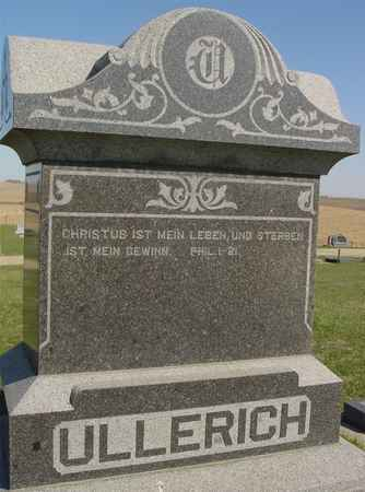 ULLERICH, FAMILY MONUMENT - Crawford County, Iowa | FAMILY MONUMENT ULLERICH
