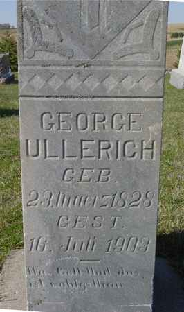 ULLERICH, GEORGE - Crawford County, Iowa | GEORGE ULLERICH