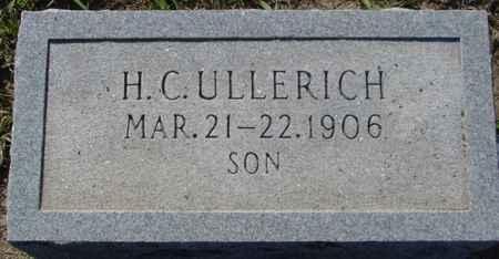 ULLERICH, H. C. - Crawford County, Iowa   H. C. ULLERICH