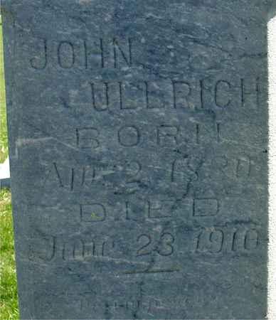 ULLRICH, JOHN - Crawford County, Iowa | JOHN ULLRICH