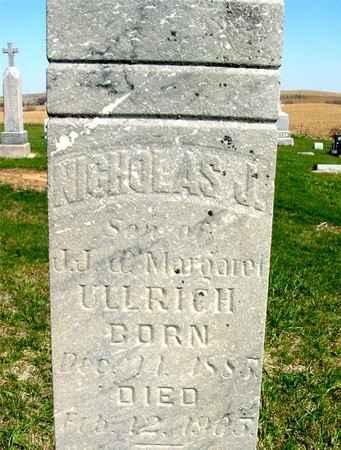 ULLRICH, NICHOLAS J. - Crawford County, Iowa | NICHOLAS J. ULLRICH