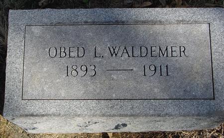 WALDEMER, OBED - Crawford County, Iowa | OBED WALDEMER