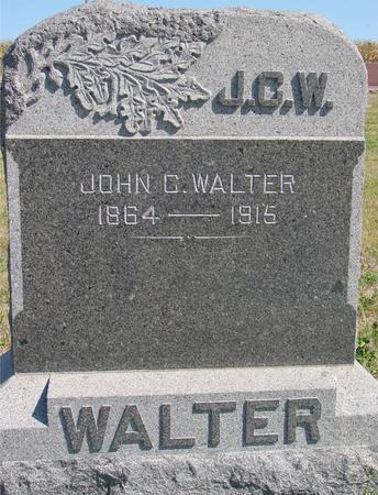 WALTER, JOHN C. - Crawford County, Iowa | JOHN C. WALTER