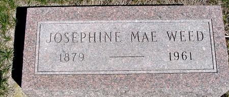 WEED, JOSEPHINE MAE - Crawford County, Iowa   JOSEPHINE MAE WEED