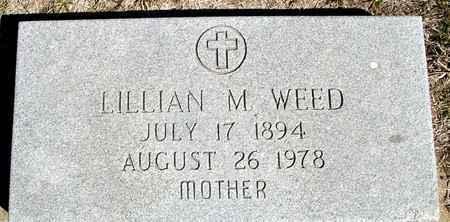 WEED, LILLIAN M. - Crawford County, Iowa | LILLIAN M. WEED
