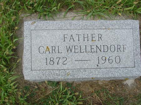 WELLENDORF, CARL - Crawford County, Iowa   CARL WELLENDORF