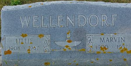 WELLENDORF, MARVIN & LILLIE - Crawford County, Iowa   MARVIN & LILLIE WELLENDORF