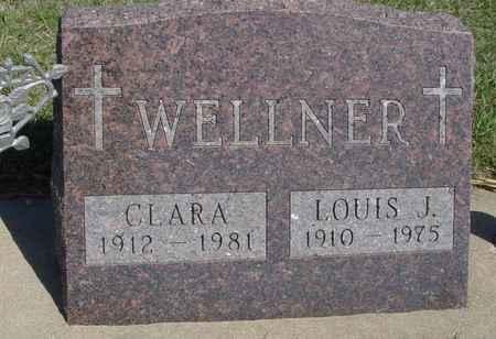 WELLNER, LOUIS & CLARA - Crawford County, Iowa | LOUIS & CLARA WELLNER