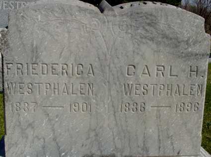 WESTPHALEN, CARL & FRIEDERICA - Crawford County, Iowa   CARL & FRIEDERICA WESTPHALEN