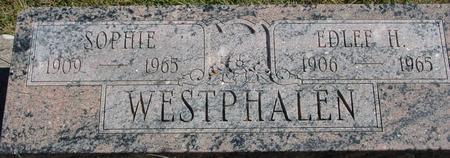 WESTPHALEN, EDLEF H. & SOPHIE - Crawford County, Iowa | EDLEF H. & SOPHIE WESTPHALEN