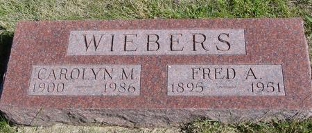 WIEBERS, FRED A. & CAROLYN - Crawford County, Iowa | FRED A. & CAROLYN WIEBERS