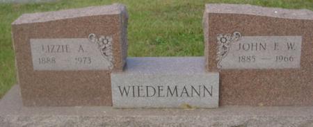 WIEDEMANN, JOHN & LIZZIE - Crawford County, Iowa | JOHN & LIZZIE WIEDEMANN