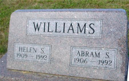 WILLIAMS, ABRAM & HELEN - Crawford County, Iowa | ABRAM & HELEN WILLIAMS