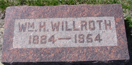 WILLROTH, WILLIAM H. - Crawford County, Iowa | WILLIAM H. WILLROTH