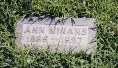 WINANS, MARY ANN (ANNA) - Crawford County, Iowa | MARY ANN (ANNA) WINANS