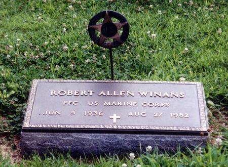 WINANS, ROBERT ALLEN - Crawford County, Iowa | ROBERT ALLEN WINANS