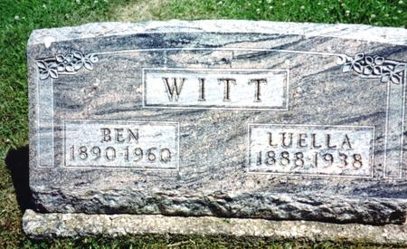WITT, BEN & LUELLA - Crawford County, Iowa | BEN & LUELLA WITT
