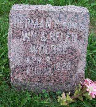WOEBKE, HERMAN P. - Crawford County, Iowa   HERMAN P. WOEBKE