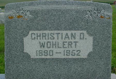 WOHLERT, CHRISTIAN D. - Crawford County, Iowa | CHRISTIAN D. WOHLERT