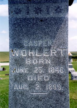 WOHLERT, CASPER - Crawford County, Iowa   CASPER WOHLERT