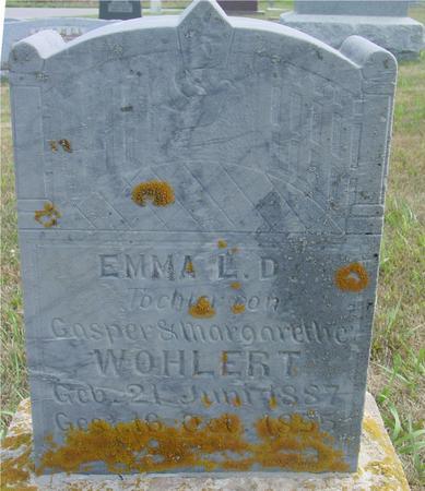 WOHLERT, EMMA - Crawford County, Iowa | EMMA WOHLERT