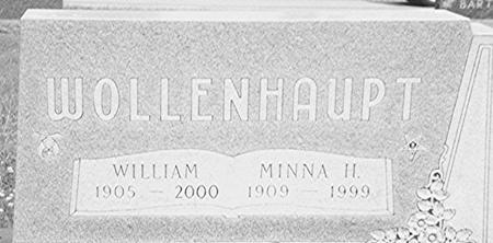 WOLLENHAUPT, WILLIAM & MINNA - Crawford County, Iowa | WILLIAM & MINNA WOLLENHAUPT