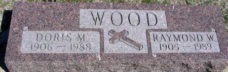 WOOD, RAYMOND & DORIS - Crawford County, Iowa | RAYMOND & DORIS WOOD