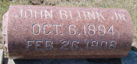 BLUNK, JOHN  JR. - Crawford County, Iowa | JOHN  JR. BLUNK