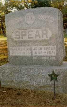 SPEAR, MARY M. - Dallas County, Iowa   MARY M. SPEAR