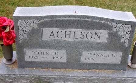 ACHESON, ROBERT C - Dallas County, Iowa | ROBERT C ACHESON