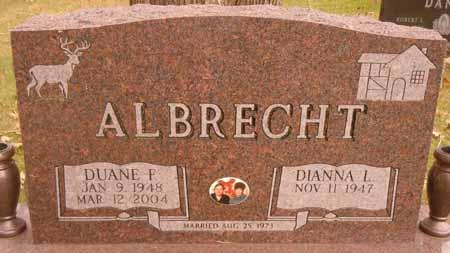 ALBRECHT, DUANE F. - Dallas County, Iowa | DUANE F. ALBRECHT