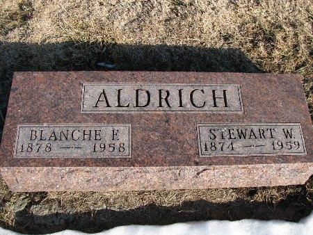 ALDRICH, STEWART W. - Dallas County, Iowa | STEWART W. ALDRICH