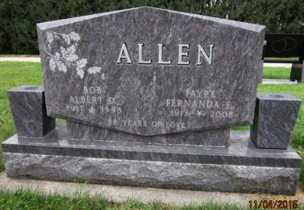 ALLEN, FERNANDA E - Dallas County, Iowa   FERNANDA E ALLEN