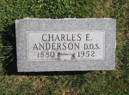 ANDERSON, CHARLES E - Dallas County, Iowa | CHARLES E ANDERSON