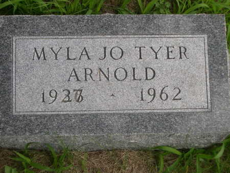 ARNOLD, MYLA JO TYER - Dallas County, Iowa | MYLA JO TYER ARNOLD