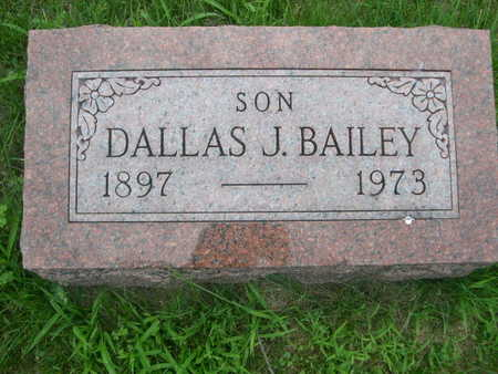BAILEY, DALLAS - Dallas County, Iowa | DALLAS BAILEY